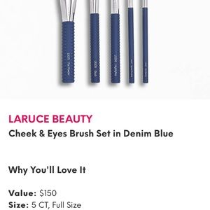 Laruce makeup brushes
